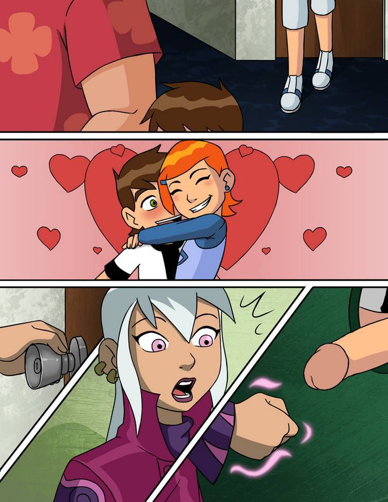 Glory Hole Gwen Tennyson de Ben 10