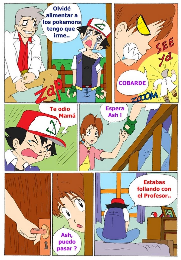 Pokemon porno comic