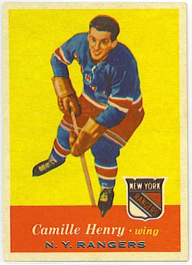 Camille Henry - 1957-58 Topps