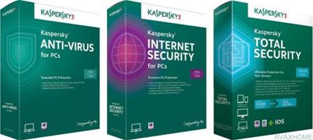 Kaspersky Internet Security / Anti-Virus / Total Security 2017 v17.0.0.611.0.184.0