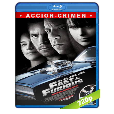 Rapido Y Furioso 4 (2009) BRRip 720p Audio Trial Latino-Castellano-Ingles 5.1