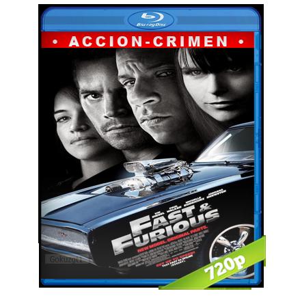 Rapido Y Furioso 4 (2009) BRRip 720p Audio Trial Latino-Castellano-Ingles 5.1