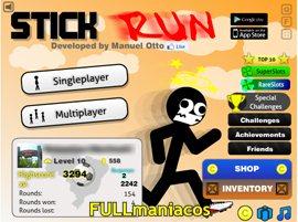 Stick Run Cheat Inmortalidad + Coins con CEtrainer