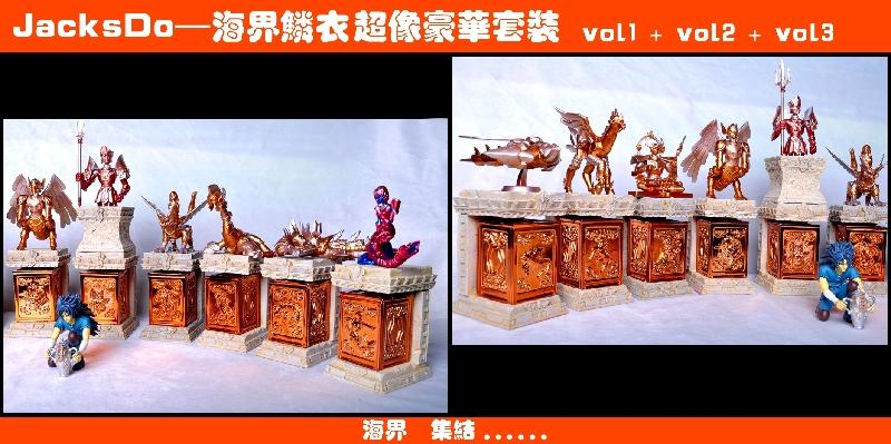 [JacksDo] Pandora Box Bronze Saint + Variant Color Black o Gold (V2 POG)