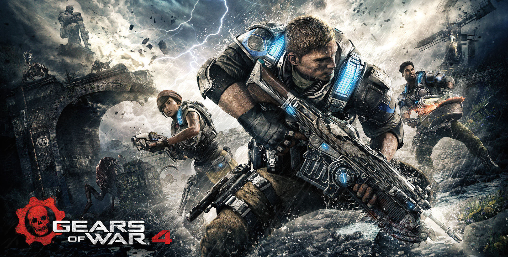 Go On A Father And Son Adventure In This New GEARS OF WAR 4 Gameplay Video