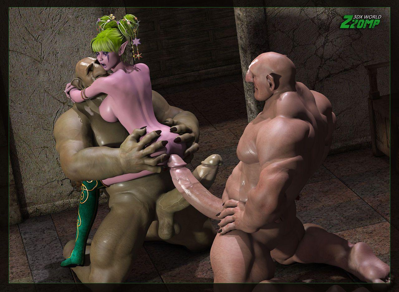 Порно игры про троллей