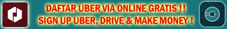 cara daftar uber online, klik sign up uber, uber driver, gocar driver, grab driver, om telolet om, alamat uber, join uber, jadi supir uber, syarat driver uber