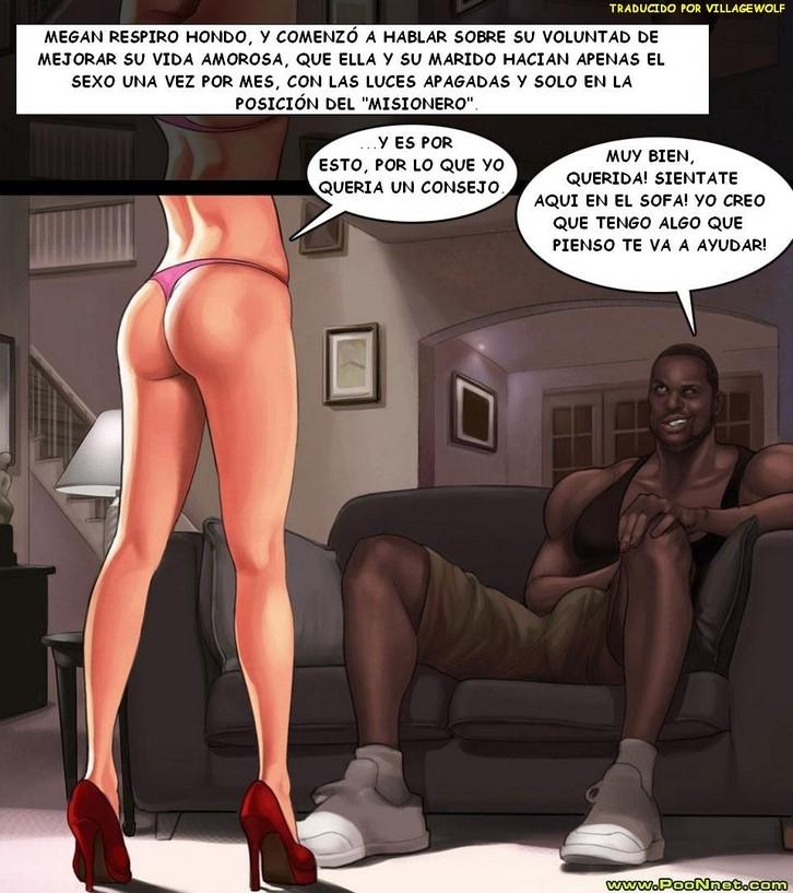 порно комикс урок для соседки