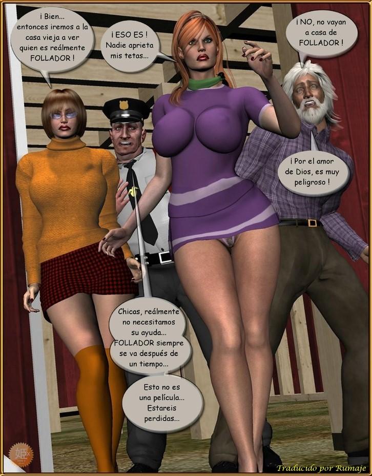 Shooby doo xxx comics