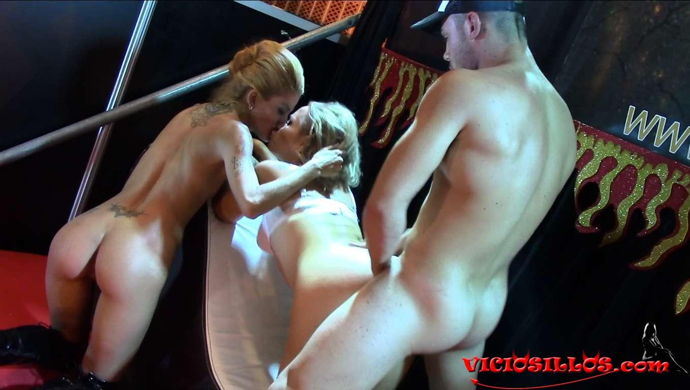 Irina vega y onix babe con espontaneo en el feda