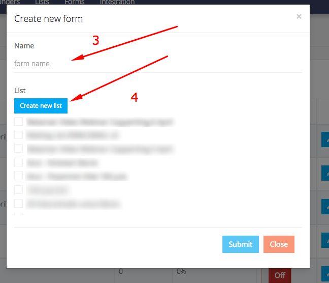 Cara Membuat Form OptIn Untuk List Building pada Layanan KIRIM.EMAIL - 2