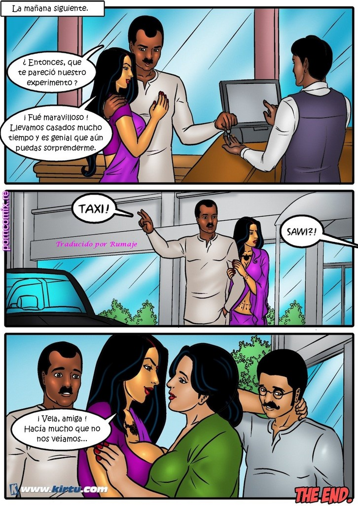 Savitha Bhabhi 43 junto a Velamma porno