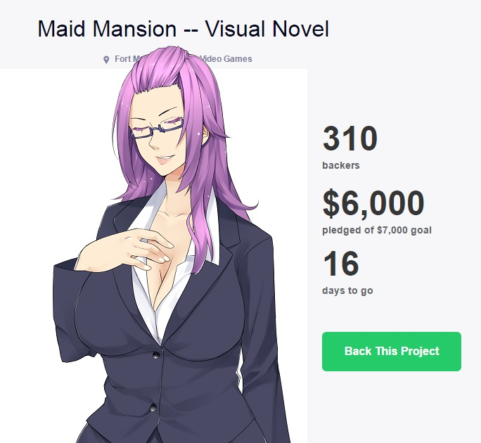 Maid Mansion [BxG] [Eroge/Dating Sim/Romance] [FUNDED