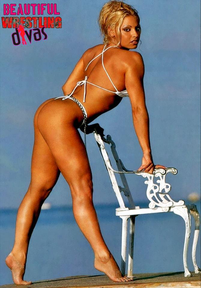 Trish White Bikini