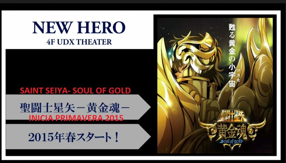 Soul of Gold Nuevo anime de Saint Seiya + muñecos nuevos GEUVOQEP