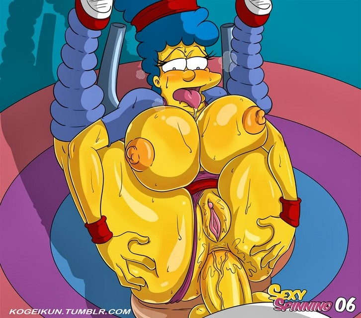 Sexy marge spinning simpson