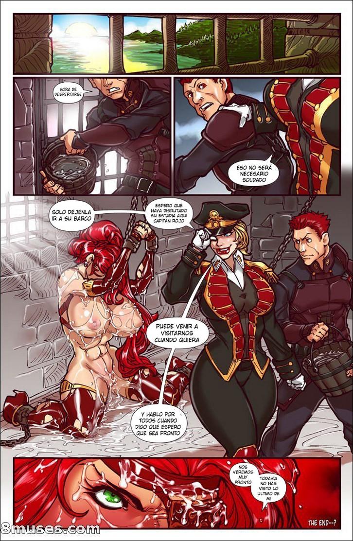 Piratas porno abusadas del reydelcomix