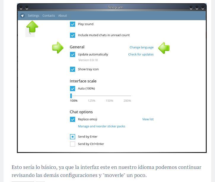 Instalar Telegram en Archlinux   Taringa!