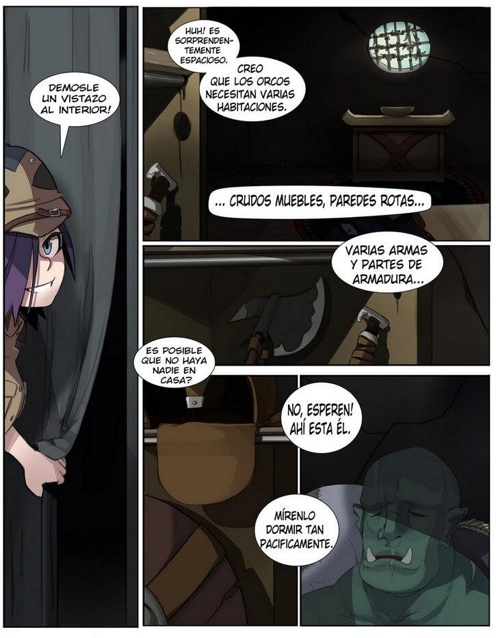 Orc Safari Comic XXX