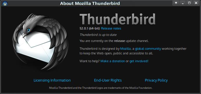 thunderbird 52.0