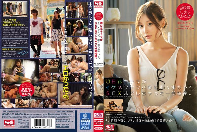SNIS-531 - Asuka Kirara - Real Secretly Filmed Documentary! How Kirara Asuka Was Picked Up By A Handsome Pick-Up Master And Ended Up Having Sex.