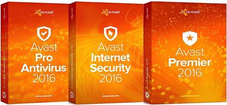 Avast! Pro Antivirus / Internet Security / Premier 2016 12.3.3149.0