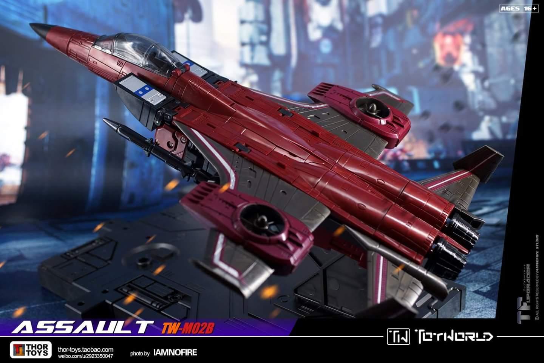 [ToyWorld] Produit Tiers - TW-M02A Combustor (Ramjet/Statoréacto), TW-M02B Assault (Thrust/Fatalo), TW-M02C Requiem (Dirge/Funébro) - Page 3 SU6RFLLk