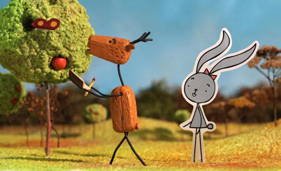 Coneja y ciervo (Nyuszi és Oz)