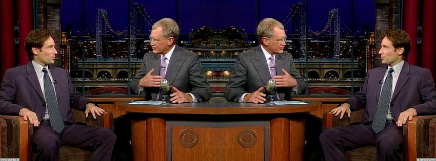 2003 David Letterman 760autNt