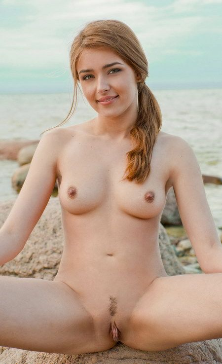 Puffy nipples handjob