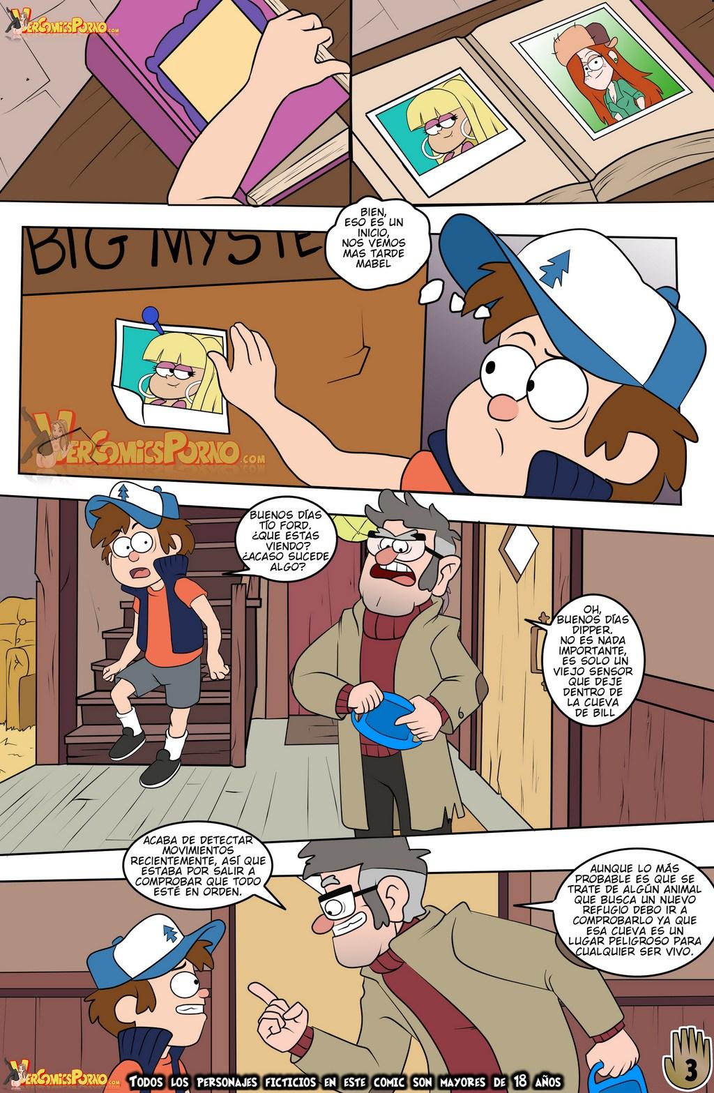 Gravity Falls Un verano de Placer 2