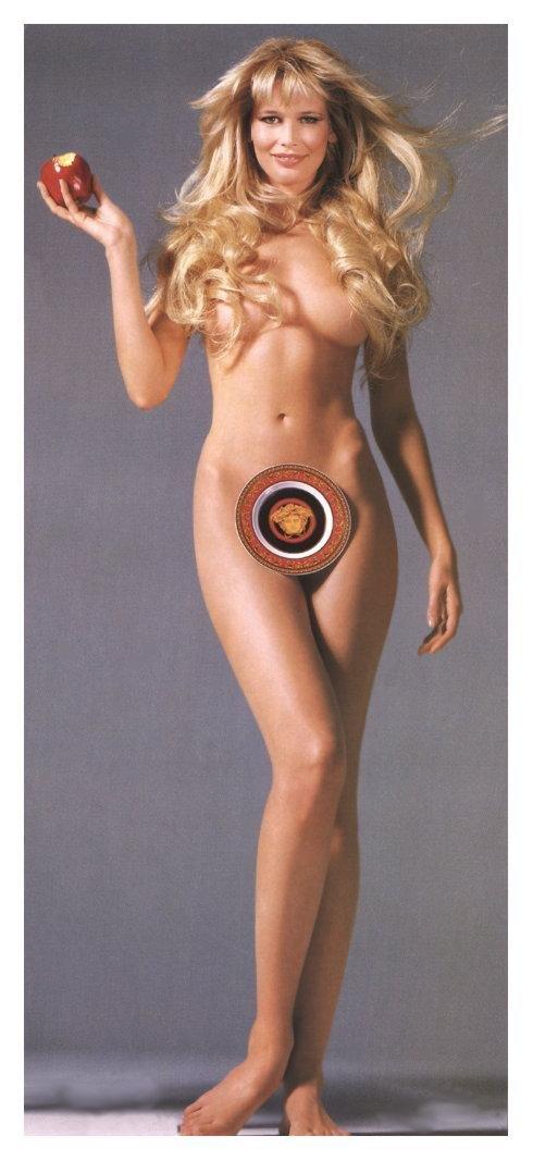 клаудиа шиффер фото голая