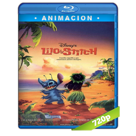 Lilo Y Stitch (2002) BRRip 720p Audio Trial Latino-Castellano-Ingles 5.1