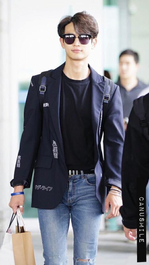[IMG/160718] Onew, Jonghyun, Key, Minho @Aeropuerto de Kansai e Incheon (Jap-Cor) TOEWnexT