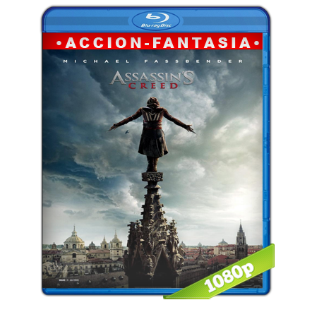 Assassin's Creed (2016) BRRip Full 1080p Audio Trial Latino-Castellano-Ingles 5.1