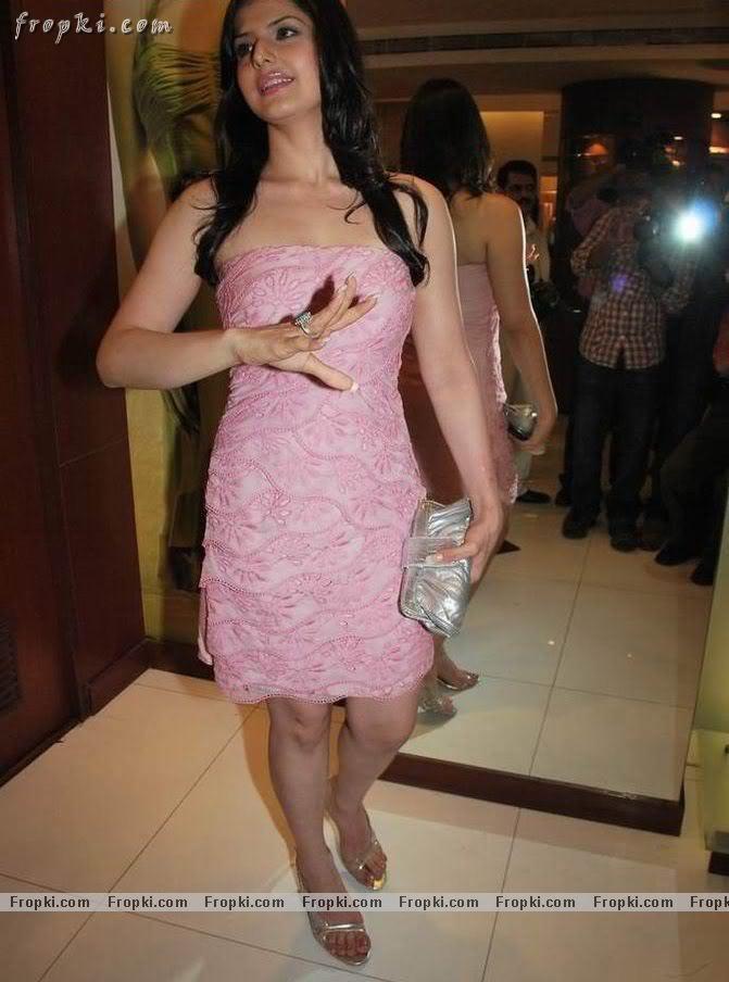 Zarine Khan - Hot Angel in pink AbulIaFA