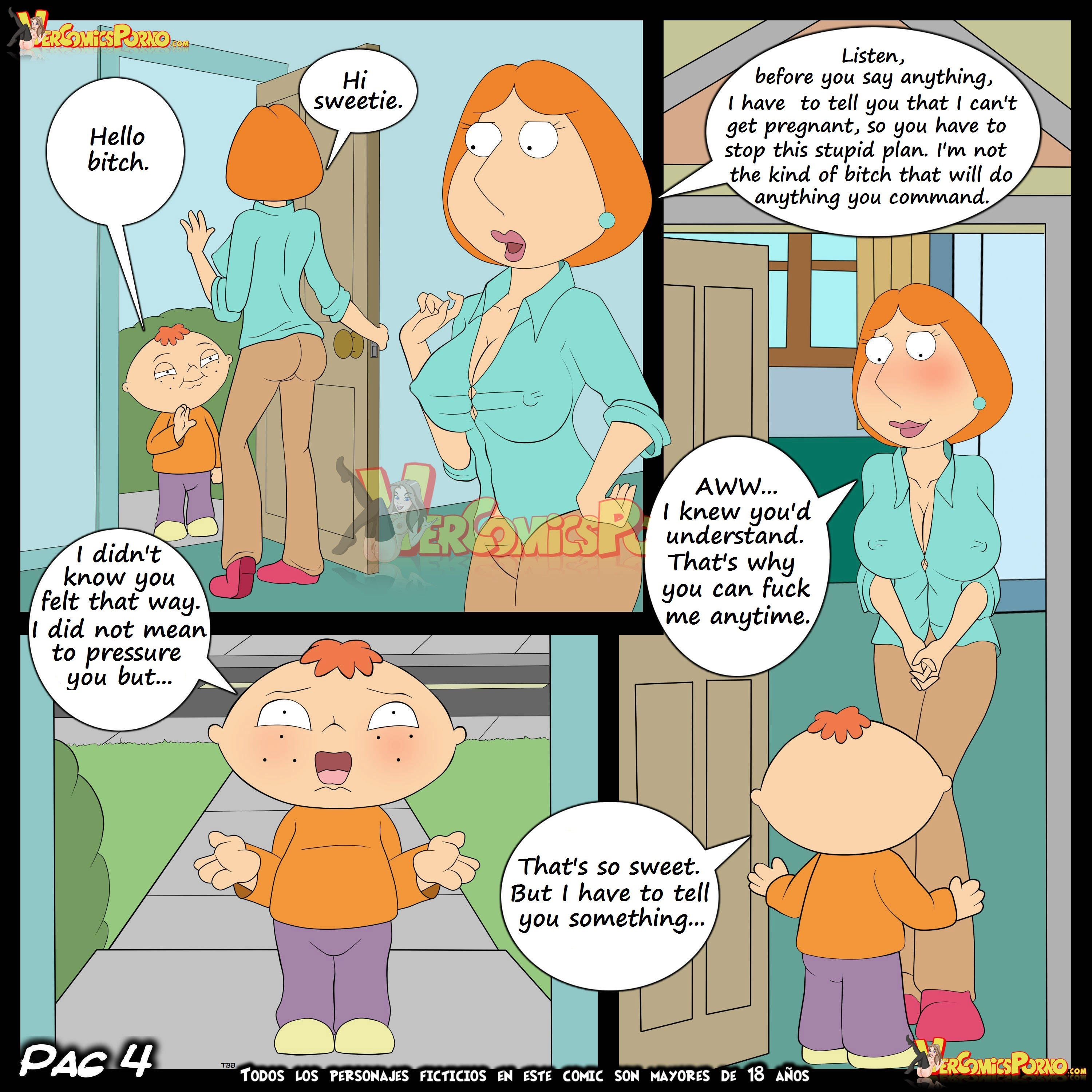 family guy xxx comic