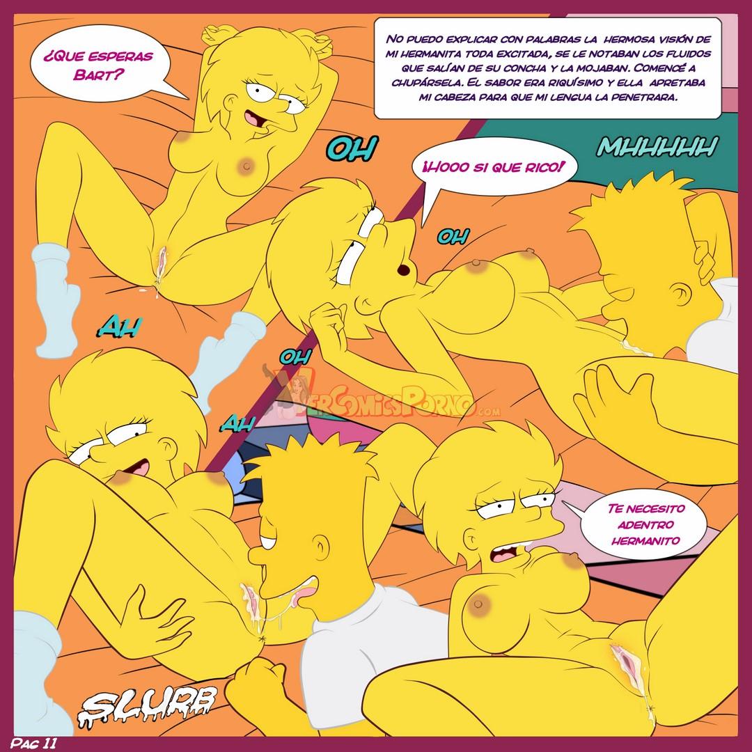 comics porno de los simpsons