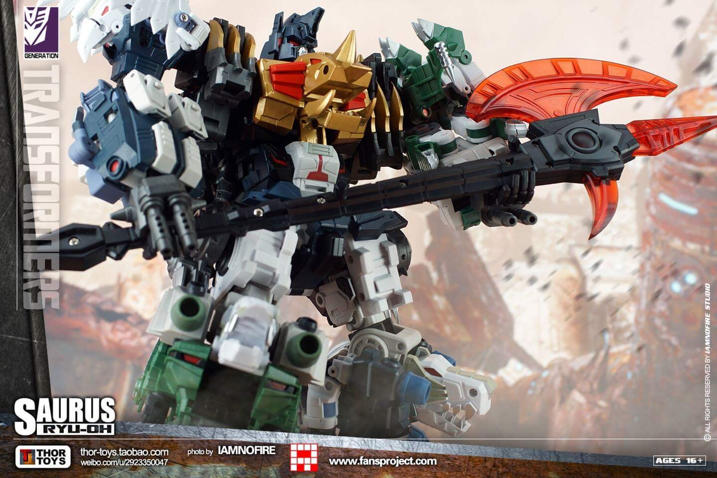 [FansProject] Produit Tiers - Jouet Saurus Ryu-oh aka Dinoking (Victory) | Monstructor (USA) - Page 2 V6Ok2JHS