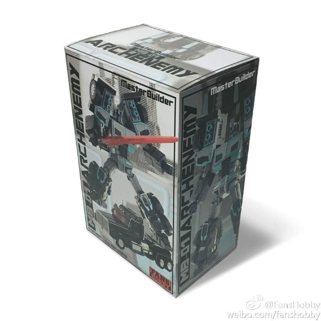 [FansHobby] Produit Tiers - Master Builder MB-01 Archenemy (aka Scourge RID 2000),  MB-04 Gunfighter II (aka Laser Optimus G2) et MB-09 Trailer (remorque) Qc6JzhId