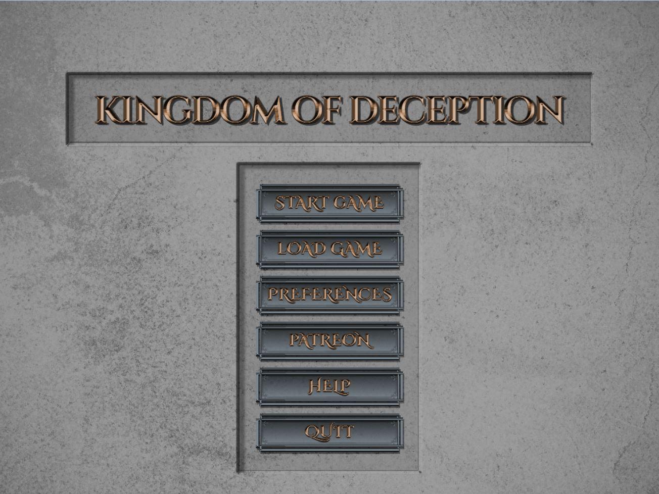 Kingdom of Deception - Version 0.1.0 Update