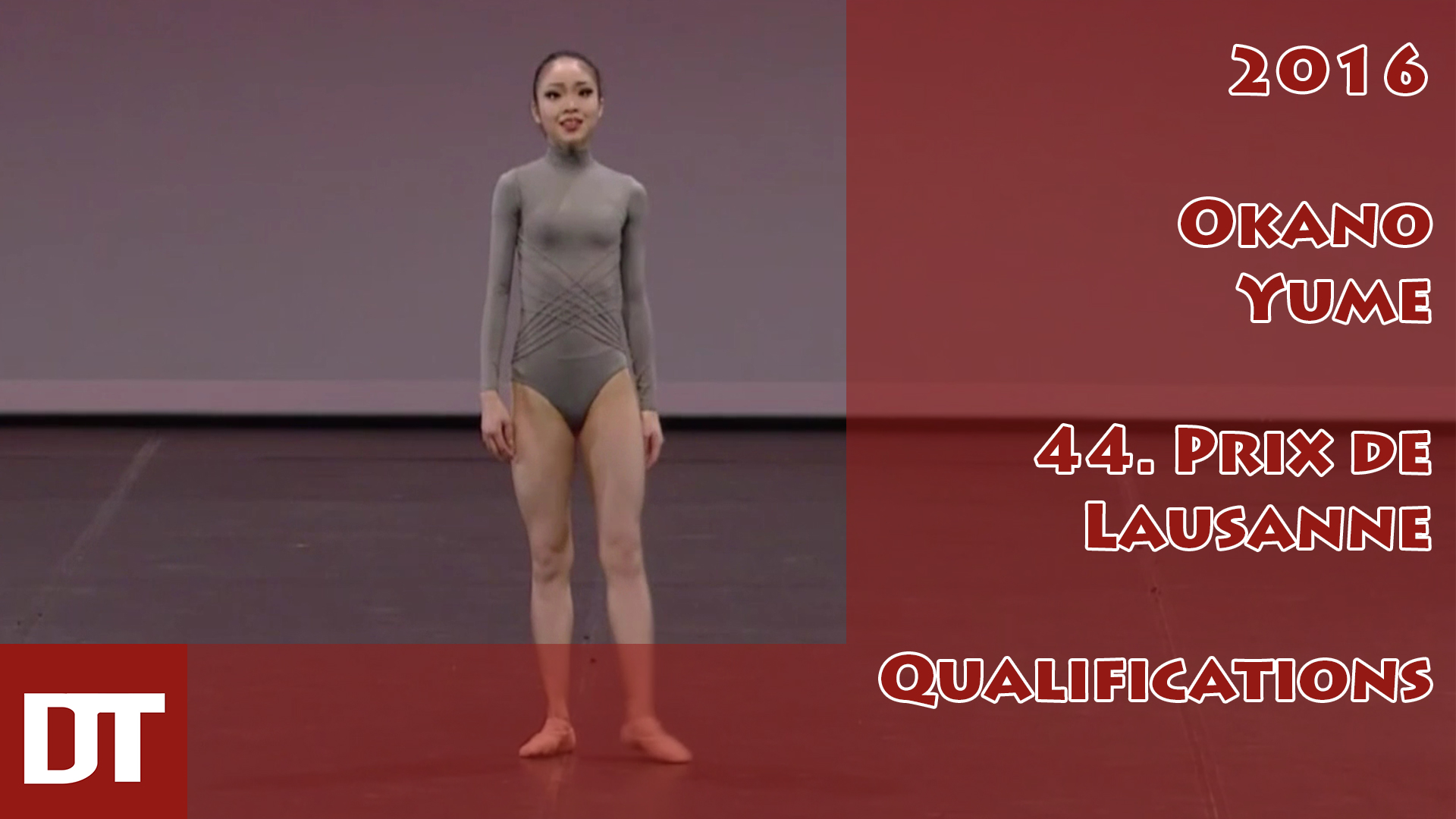 2016 – Okano Yume – 44. Prix de Lausanne – Qualifications