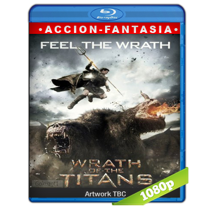 Furia De Titanes 2 (2012) BRRip Full 1080p Audio Trial Latino-Castellano-Ingles 5.1