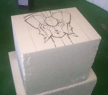 Processo de criação da Armadura de Gemeos para a exibição de Pachinko G5GUbYYm
