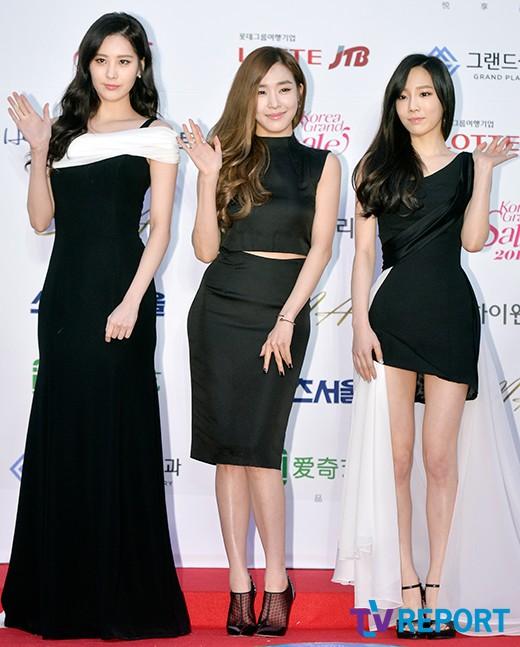 """[150122] Girls' Generation - TTS — Alfombra Roja de """"24° Premios de Música de Seúl"""" QDxaIjZC"""
