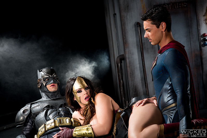 woman porn Batman superman wonder