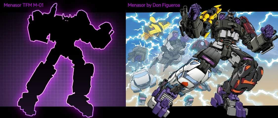 [Transform Mission] Produit Tiers - Jouet M-01 AutoSamurai - aka Menasor/Menaseur des BD IDW X2NaLBRS