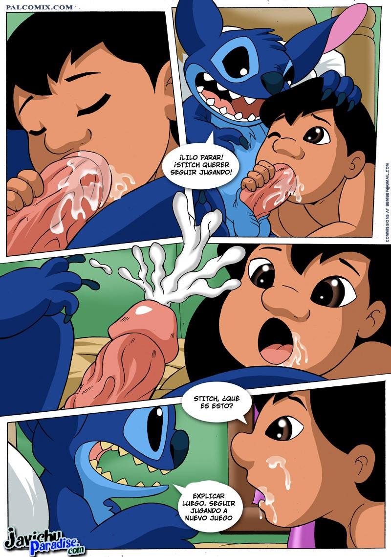Lilo y puntada hentai de dibujos animados porno