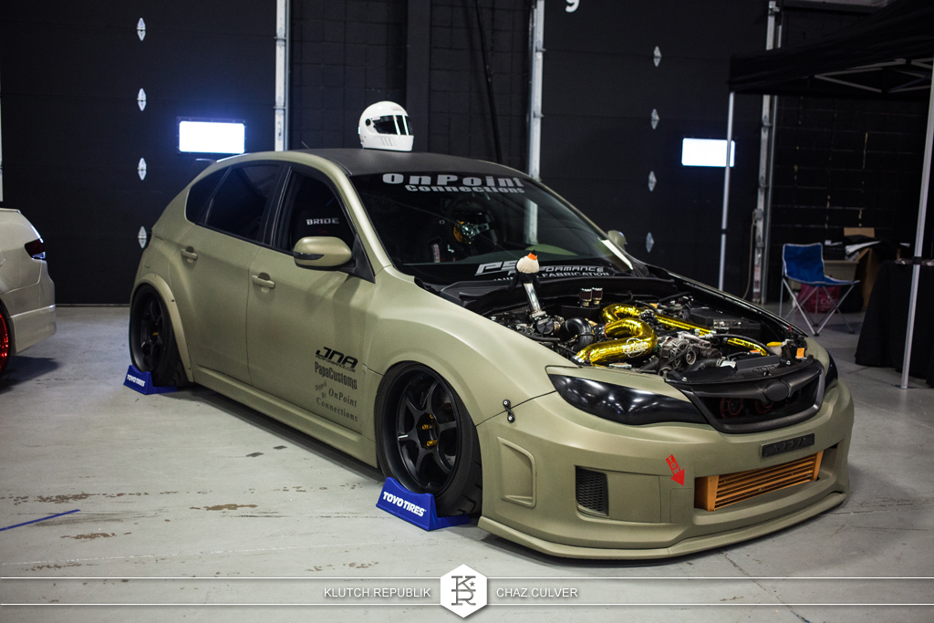 subaru sti compound turbo wekfest east 2014
