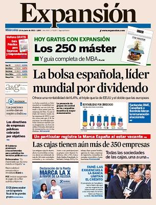 Diario Expansion – Miércoles, 19 De Junio De 2013